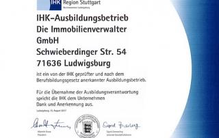 DIV IHK-Zertifikat